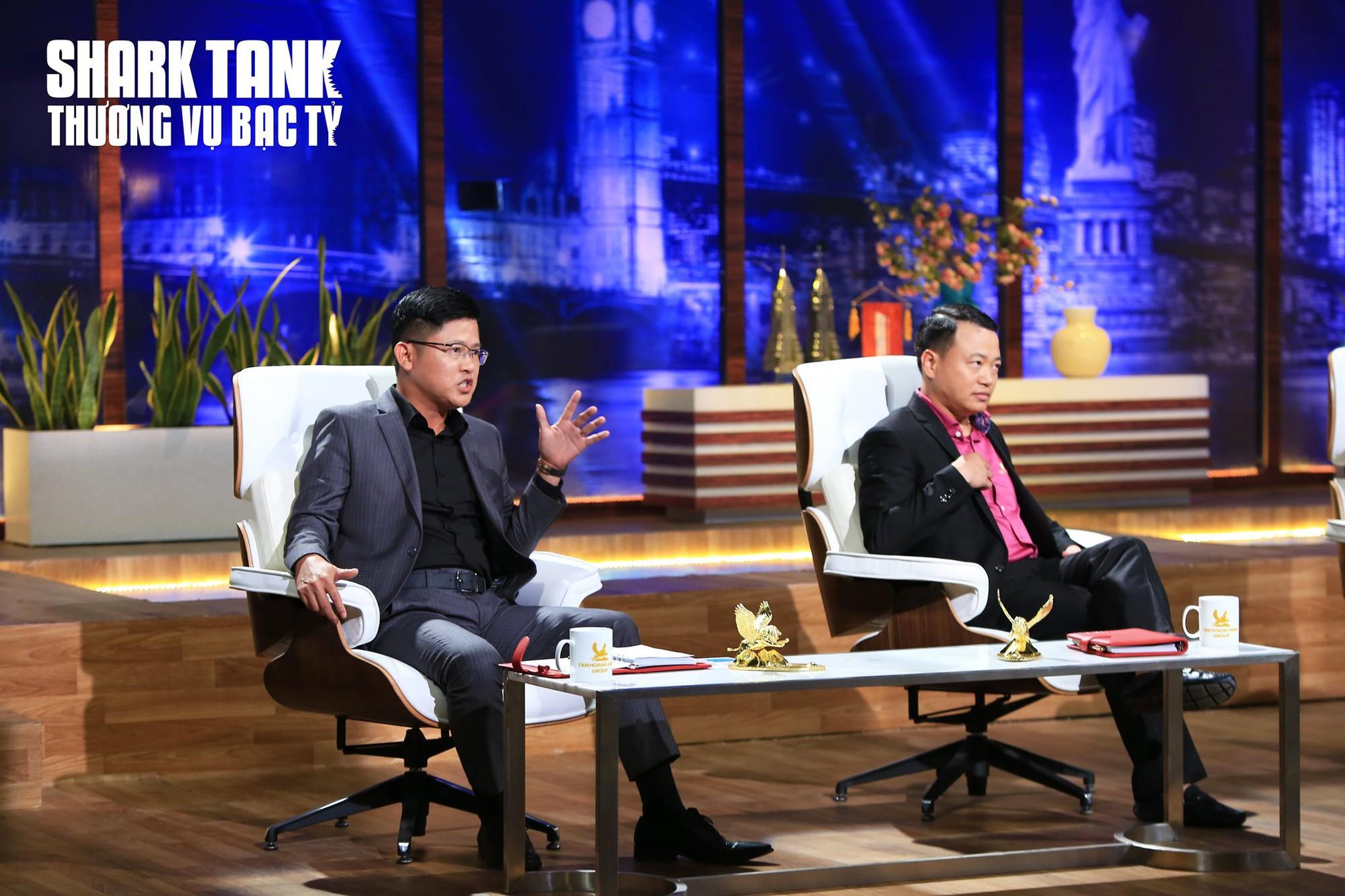 Định giá công ty tới 5 tỉ USD, chàng trai gọi thành công 100.000 USD trên Shark Tank Việt Nam - Ảnh 2.
