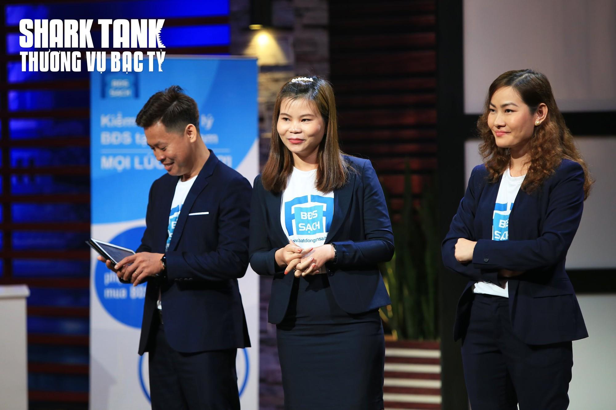 Nhóm sáng lập Bất động sản Sạch từ chối 100.000 USD trên Shark Tank Việt Nam - Ảnh 1.
