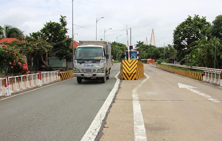 Tiền Giang xin bỏ trạm thu phí phụ cầu Rạch Miễu - Ảnh 1.
