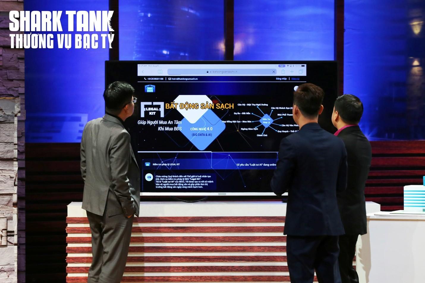 Nhóm sáng lập Bất động sản Sạch từ chối 100.000 USD trên Shark Tank Việt Nam - Ảnh 3.