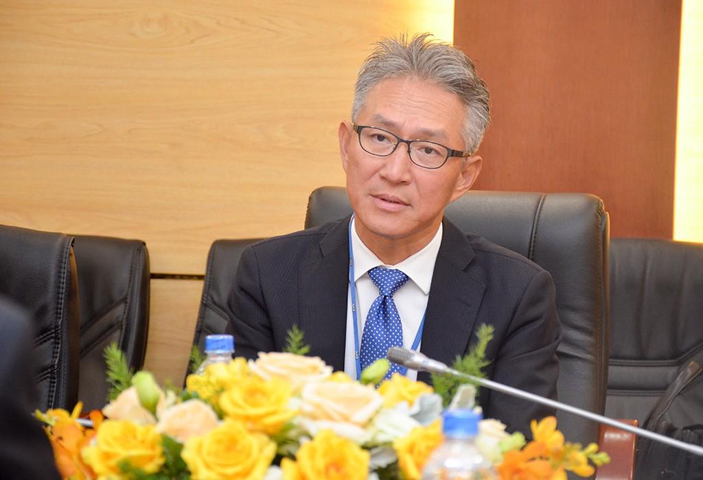 Ông Tadahiro Kinoshita - Giám đốc điều hành Tập đoàn Sojitz