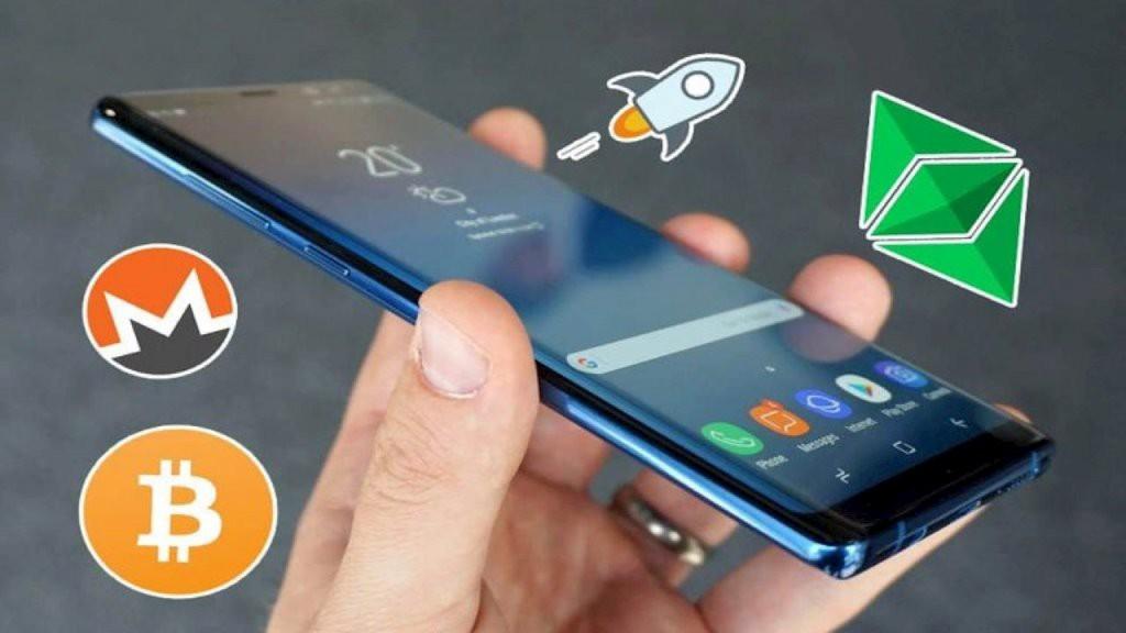 Samsung đã thực sự bước vào cuộc chơi tiền điện tử.