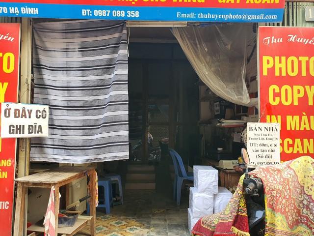 Hàng quán đóng cửa sang nhượng, dân quanh Công ty Rạng Đông thi nhau bán nhà - Ảnh 5.