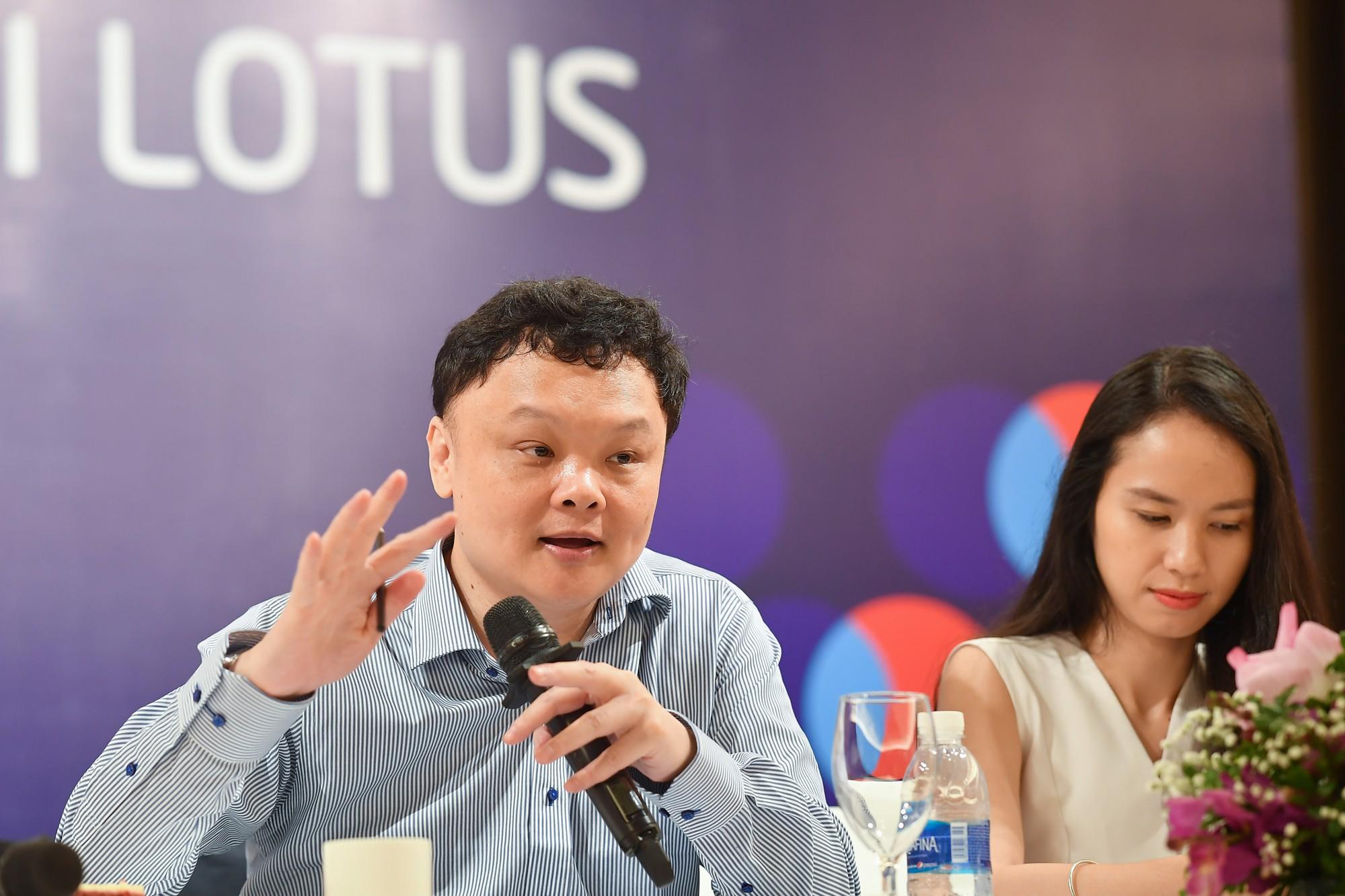 Họp báo Mạng xã hội Lotus 25