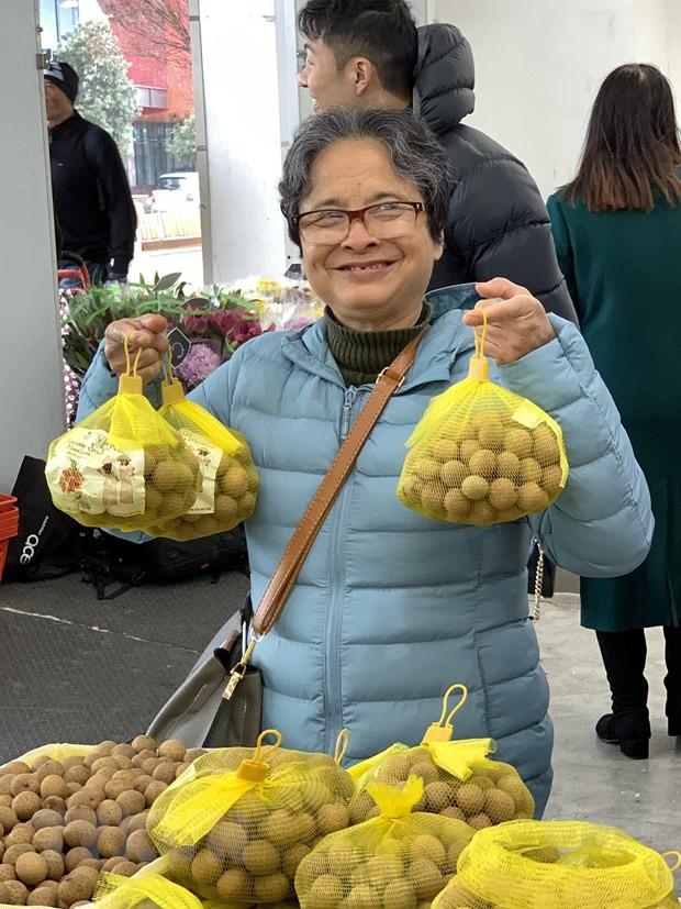 Lần đầu tiên nhãn tươi Việt Nam xuất hiện tại thị trường Australia - Ảnh 2.