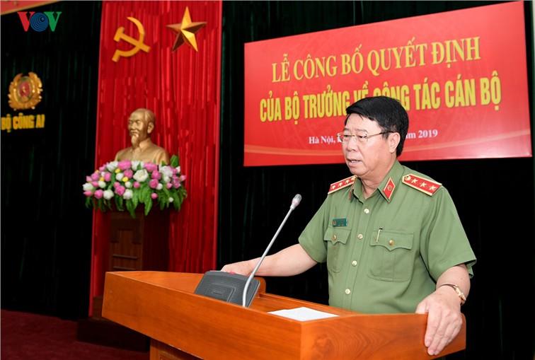 Thiếu tướng Tô Ân Xô giữ chức Chánh Văn phòng Bộ Công an - Ảnh 1.