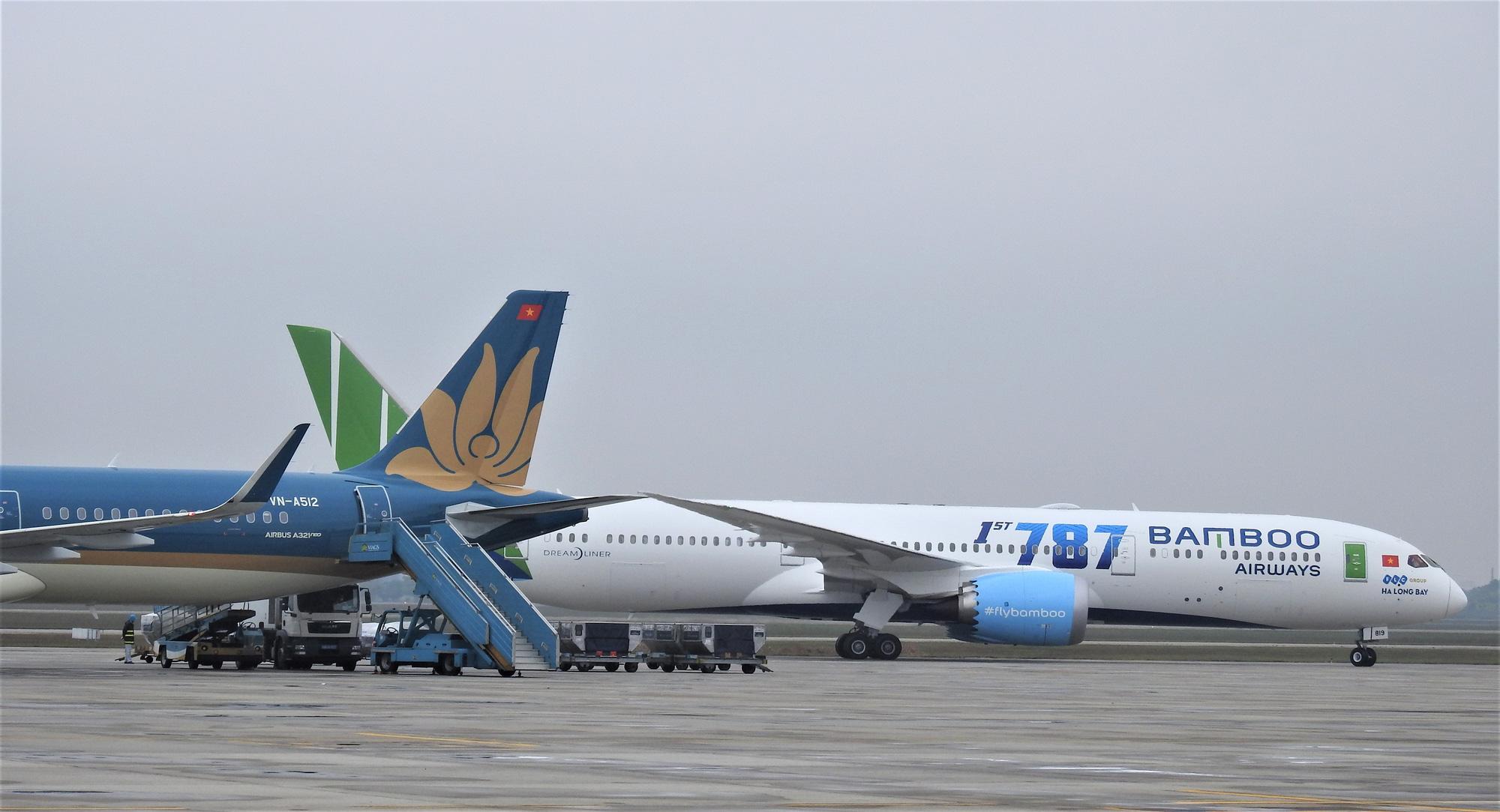 Bamboo Airways có tỉ lệ cất cánh đúng giờ cao nhất tháng 7 - Ảnh 1.