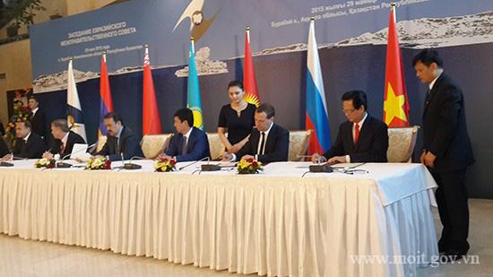 Hiệp định Thương mại Tự do Việt Nam - Liên minh Kinh tế Á - Âu - Ảnh 1.
