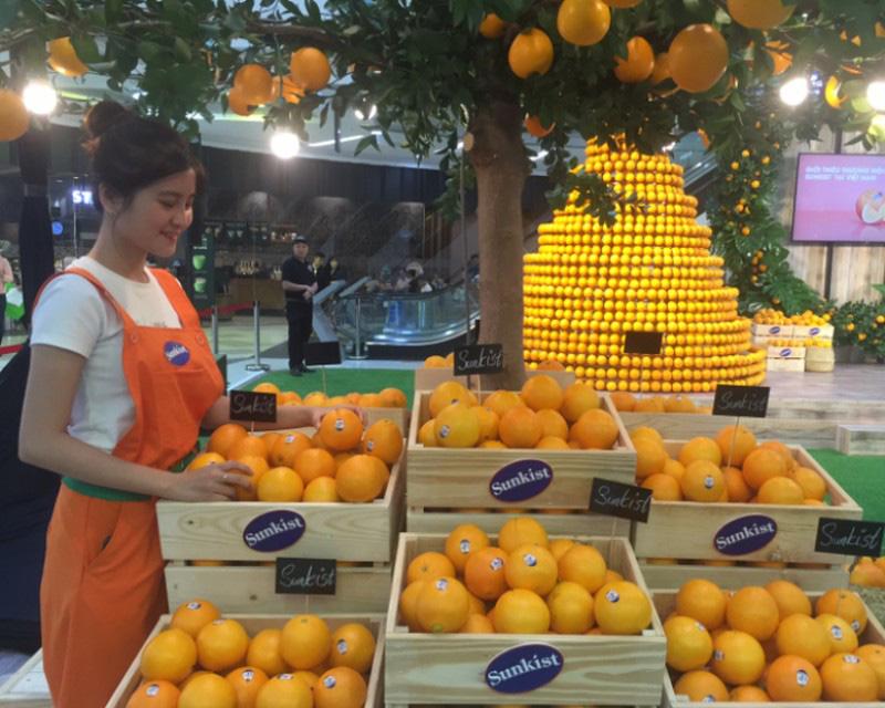 Mỹ chính thức đưa thêm trái cam vào Việt Nam - Ảnh 1.