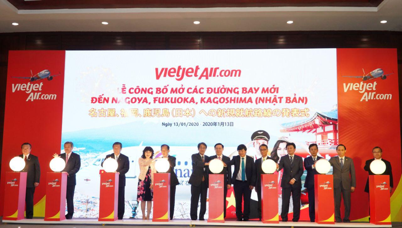 Vietjet sắp mở thêm 5 đường bay tới Nhật Bản - Ảnh 1.