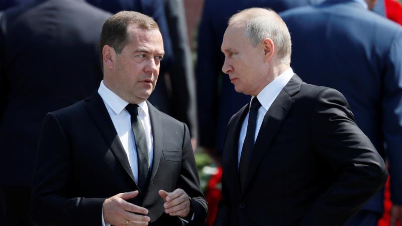 20 năm đồng hành của bộ đôi Putin - Medvedev - Ảnh 1.
