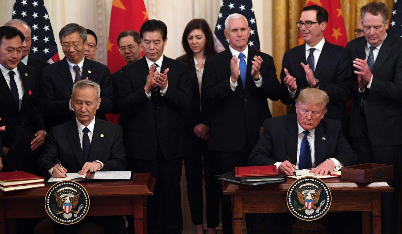 Thỏa thuận thương mại mong manh lại là liên kết vững chắc nhất giữa Mỹ và Trung Quốc - Ảnh 1.