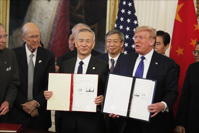5 điểm gai góc không có trong thỏa thuận thương mại Mỹ-Trung giai đoạn 1 - Ảnh 1.