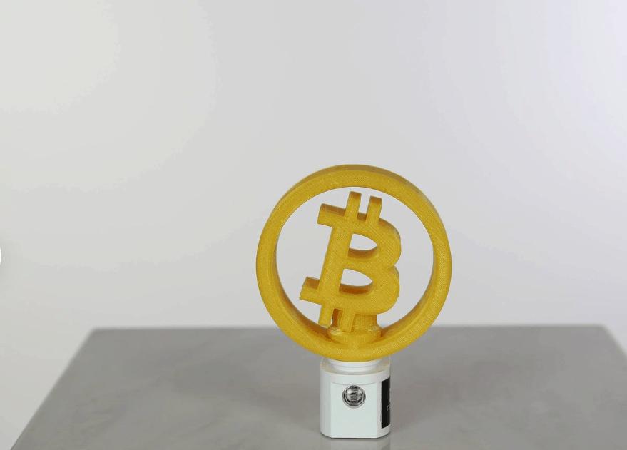 Đèn ngủ bitcoin lạ mắt