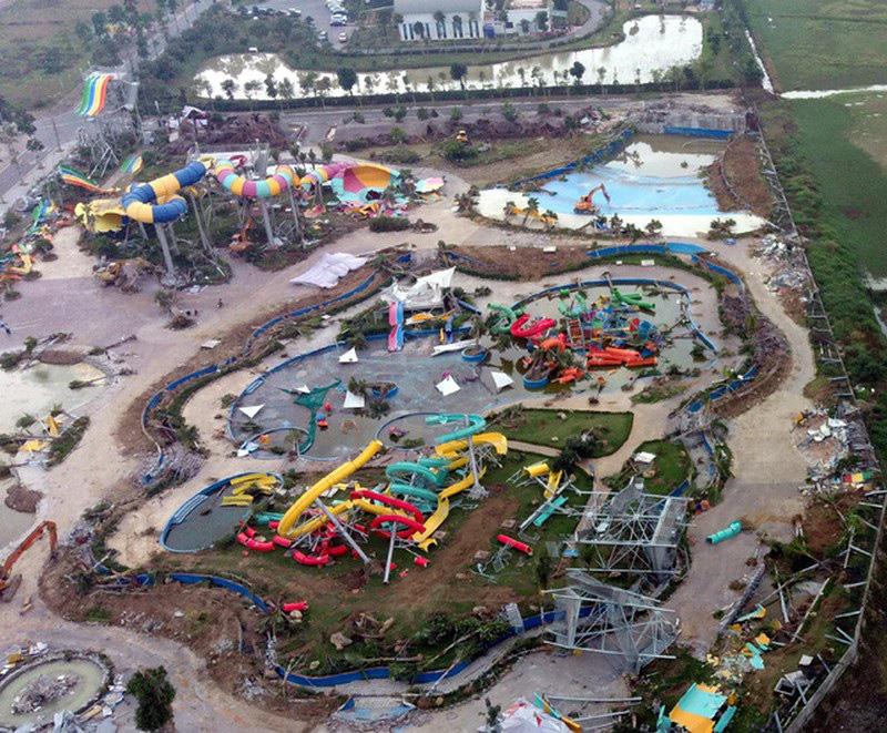 Hà Nội: Công viên hàng trăm tỷ đồng 'chớp mắt' biến thành đống đổ nát - Ảnh 2.
