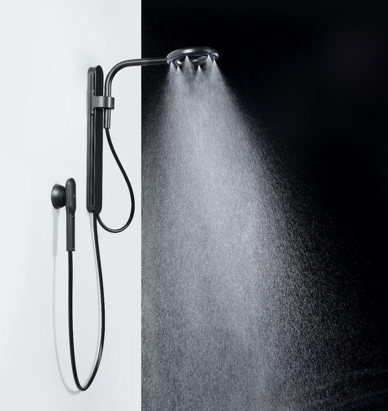 Bloomberg đánh giá vòi sen Nubia có thiết kế như một sản phẩm của Apple, nếu hãng này sản xuất các thiết bị nhà tắm. (Ảnh: Nebia)