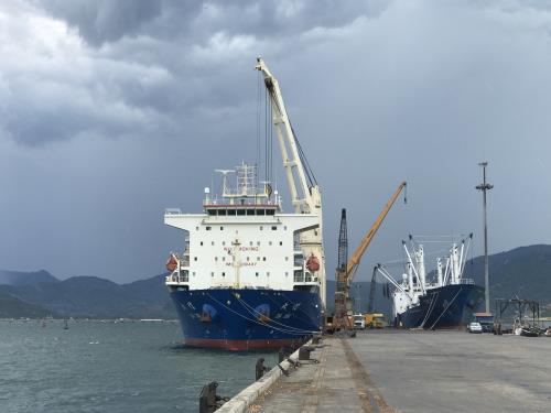 Cảng Cam Ranh tiếp tục lập kỷ lục sản lượng hàng hóa thông qua - Ảnh 1.