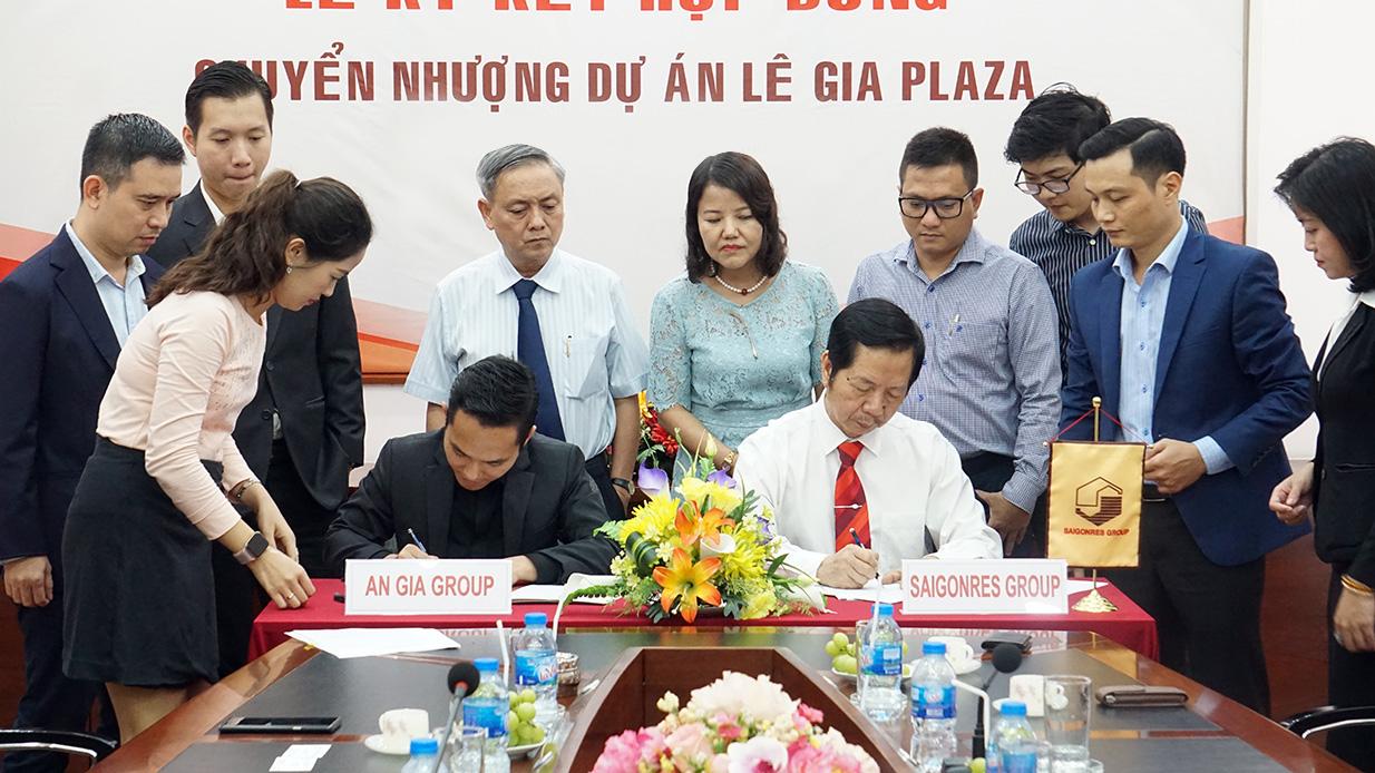 Saigonres chuyển nhượng dự án Lê Gia Plaza cho BĐS An Gia với giá 600 tỉ đồng - Ảnh 1.