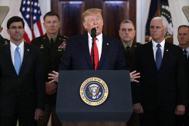 Tổng thống Trump: Mỹ ngay lập tức trừng phạt kinh tế Iran, chưa động đến quân sự - Ảnh 1.