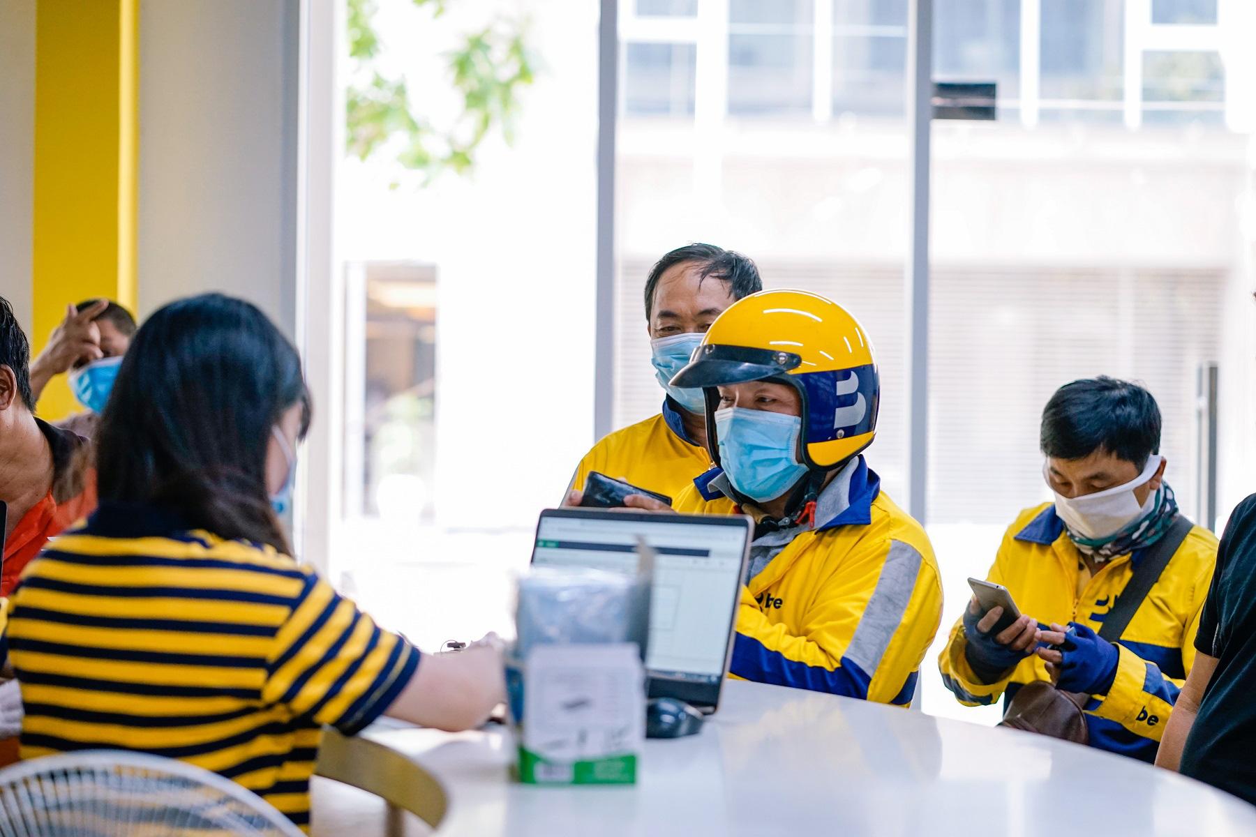 Ứng dụng gọi xe Be tặng bảo hiểm 350 triệu đồng cho tài xế tuân thủ qui định phòng chống dịch bệnh và lọt top doanh thu - Ảnh 2.