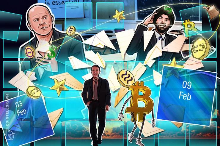 Bitcoin tăng mạnh trong tuần qua (nguồn: CoinTelegraph)