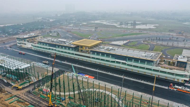 Chiêm ngưỡng không gian của trường đua Hà Nội, mọi thứ đã sẵn sàng cho giải F1 hấp dẫn nhất thế giới - Ảnh 1.