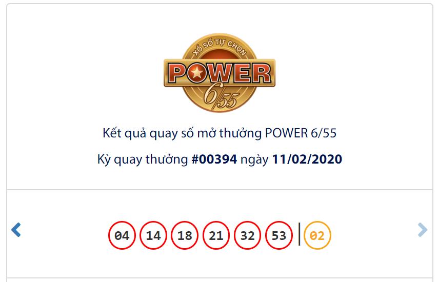 Kết quả Vietlott Power 6/55 ngày 11/1: Chủ nhân jackpot 1 trị giá 57,4 tỉ đồng chưa xuất hiện - Ảnh 1.