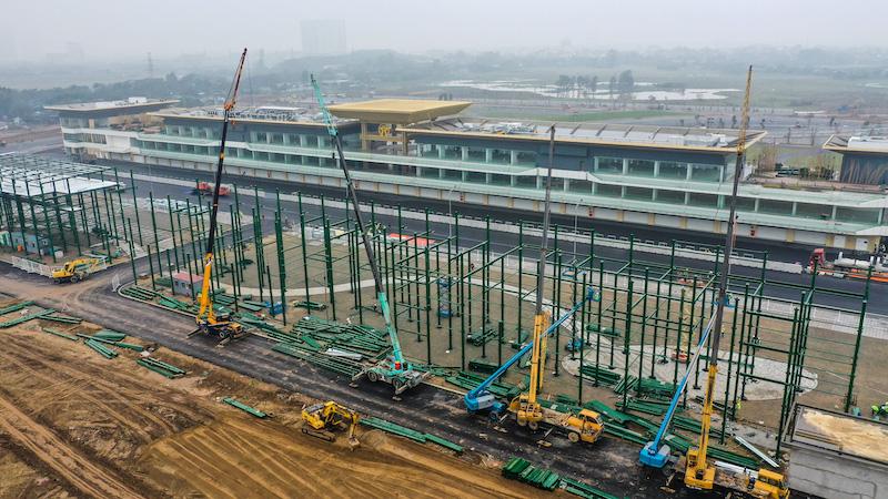 Chiêm ngưỡng không gian của trường đua Hà Nội, mọi thứ đã sẵn sàng cho giải F1 hấp dẫn nhất thế giới - Ảnh 5.