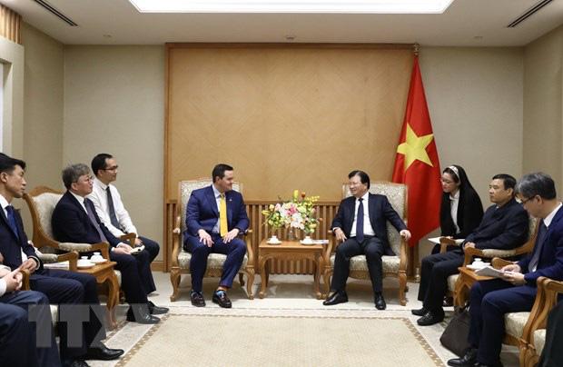 Nhà đầu tư Hoa Kỳ - Hàn Quốc quan tâm dự án điện khí LNG ở Việt Nam - Ảnh 1.