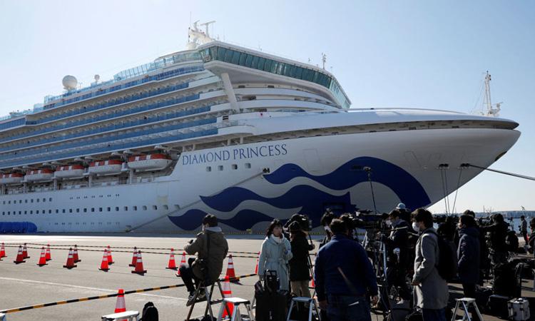 Cầu cứu từ du thuyền bị cách ly vì virus corona - Ảnh 1.