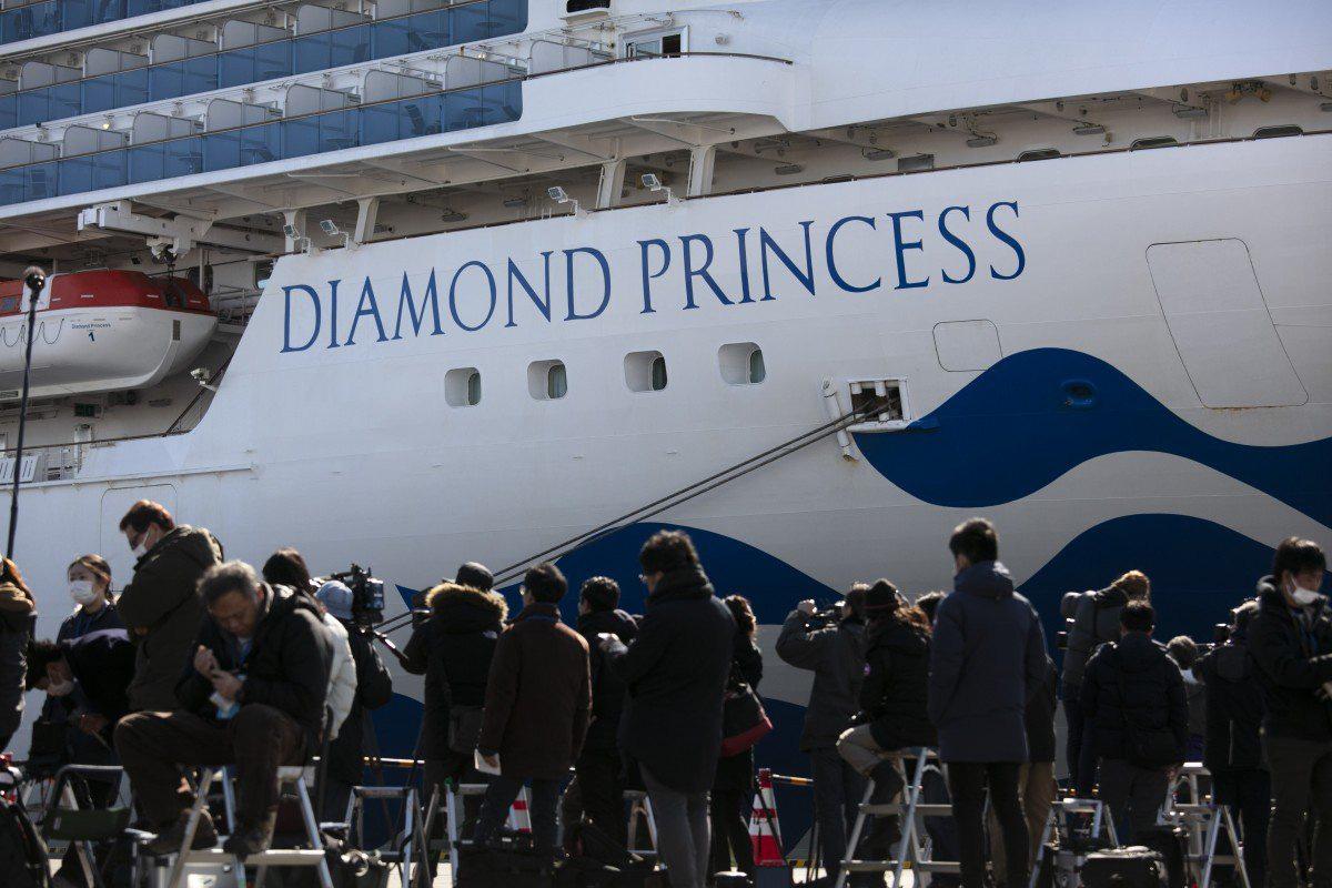 Thêm 44 ca nhiễm covid-19 trên du thuyền Diamond Princess - Ảnh 1.