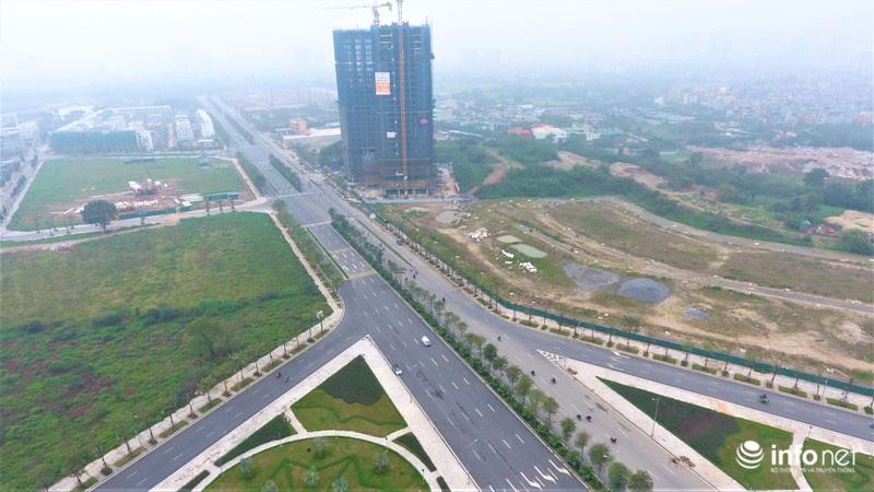 Hà Nội: Cận cảnh tuyến đường Nguyễn Xiển - Xa La nghìn tỉ vừa thông xe - Ảnh 2.