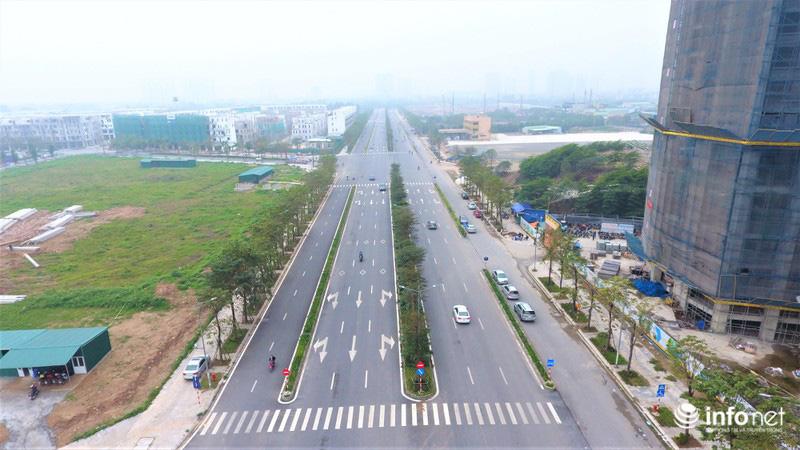 Hà Nội: Cận cảnh tuyến đường Nguyễn Xiển - Xa La nghìn tỉ vừa thông xe - Ảnh 3.