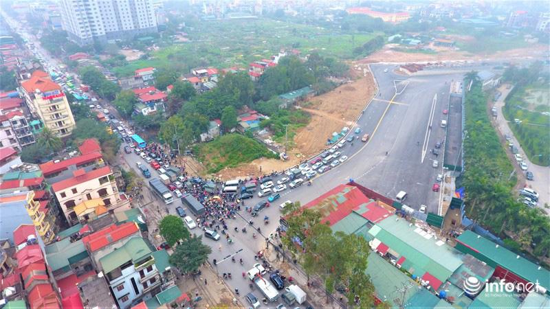 Hà Nội: Cận cảnh tuyến đường Nguyễn Xiển - Xa La nghìn tỉ vừa thông xe - Ảnh 8.