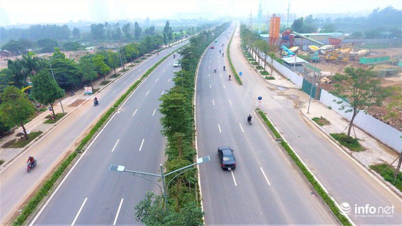 Hà Nội: Cận cảnh tuyến đường Nguyễn Xiển - Xa La nghìn tỉ vừa thông xe - Ảnh 10.