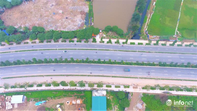 Hà Nội: Cận cảnh tuyến đường Nguyễn Xiển - Xa La nghìn tỉ vừa thông xe - Ảnh 12.
