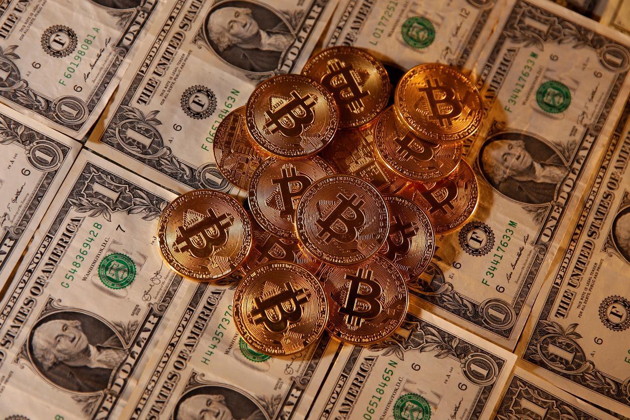 Bitcoin và USD (ảnh: Reuters, 27/1/2020)