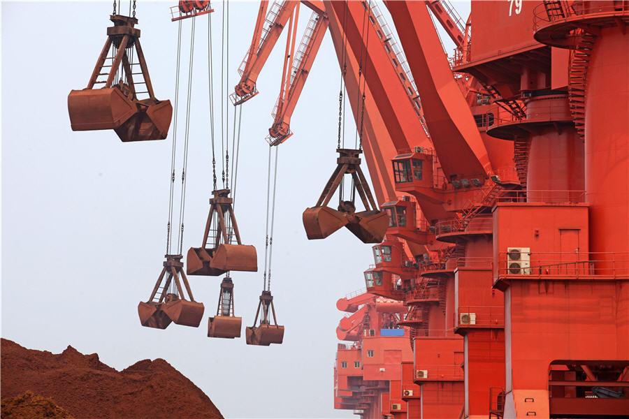 Giá thép xây dựng hôm nay (15/2): Giá quặng sắt đánh dấu mức tăng hàng tuần mạnh nhất 5 tháng - Ảnh 1.