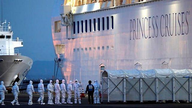 Nhật Bản xác nhận 355 trường hợp nhiễm Covid 19 trên du thuyền Diamond Princess - Ảnh 1.