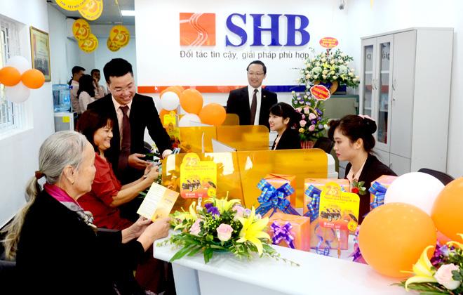 Ngân hàng SHB (ảnh: website ngân hàng SHB)