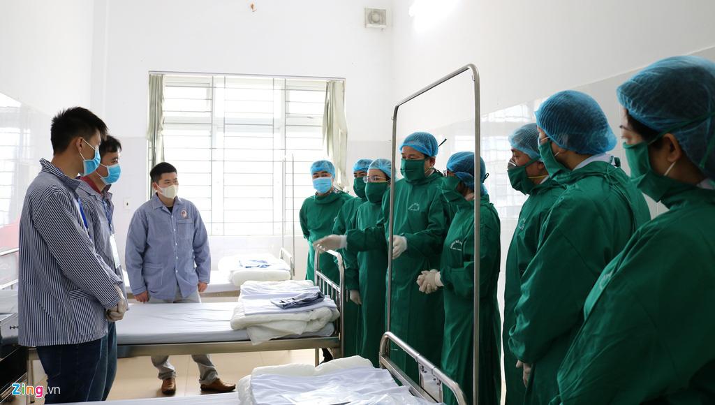 Khu cách li người có nguy cơ nhiễm virus corona ở Hải Phòng - Ảnh 4.