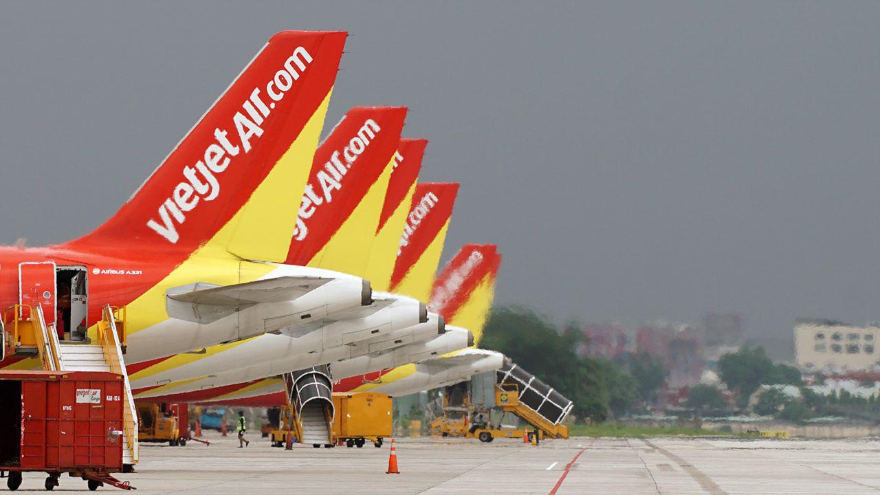 Vietjet vẫn khai thác bình thường các tuyến bay đến Đài Loan và Hong Kong - Ảnh 1.