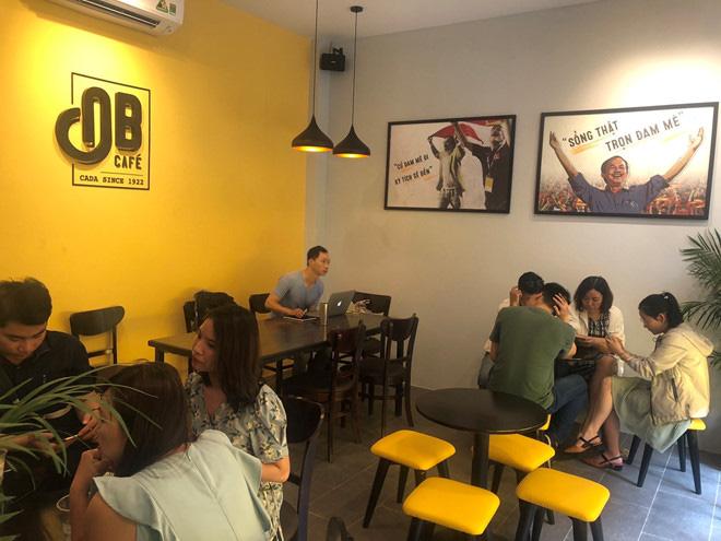 Cà phê Ông Bầu chạy thử, bầu Thắng trực tiếp bán cà phê - Ảnh 11.
