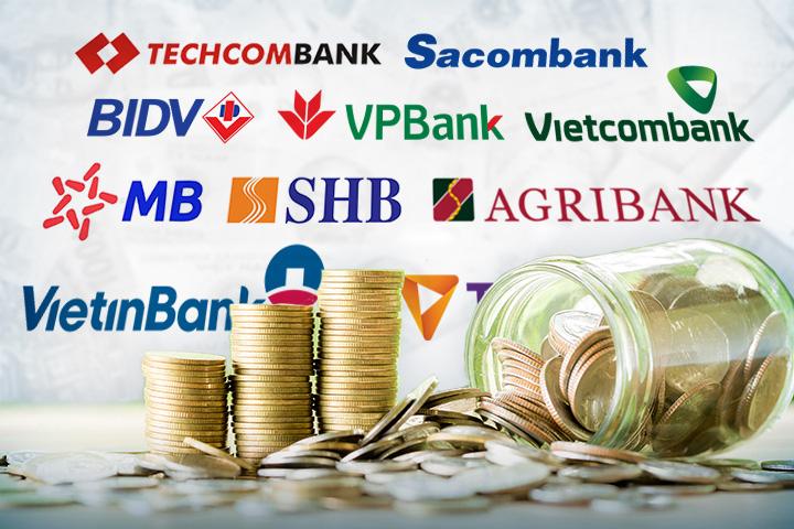 TOP 10 ngân hàng có tổng thu nhập lớn nhất: BIDV, Vietcombank và VietinBank dẫn đầu - Ảnh 1.