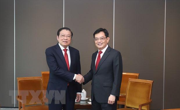 Singapore mong muốn đẩy mạnh quan hệ hợp tác nhiều mặt với Việt Nam - Ảnh 1.