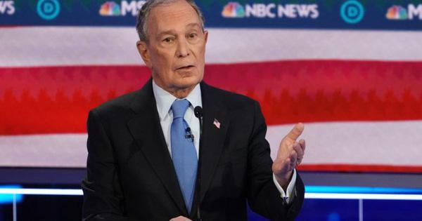 Tỉ phú Bloomberg bị 'xâu xé' trong cuộc tranh luận của đảng Dân chủ - Ảnh 1.