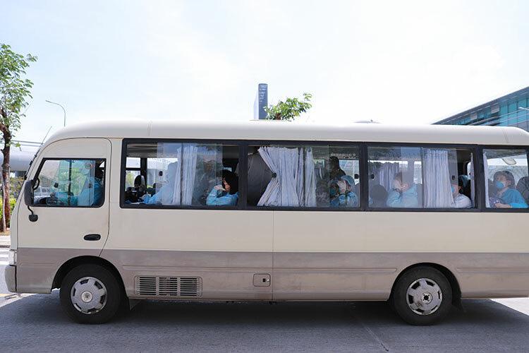 Nhóm khách Hàn Quốc không muốn vào khu cách li - Ảnh 2.