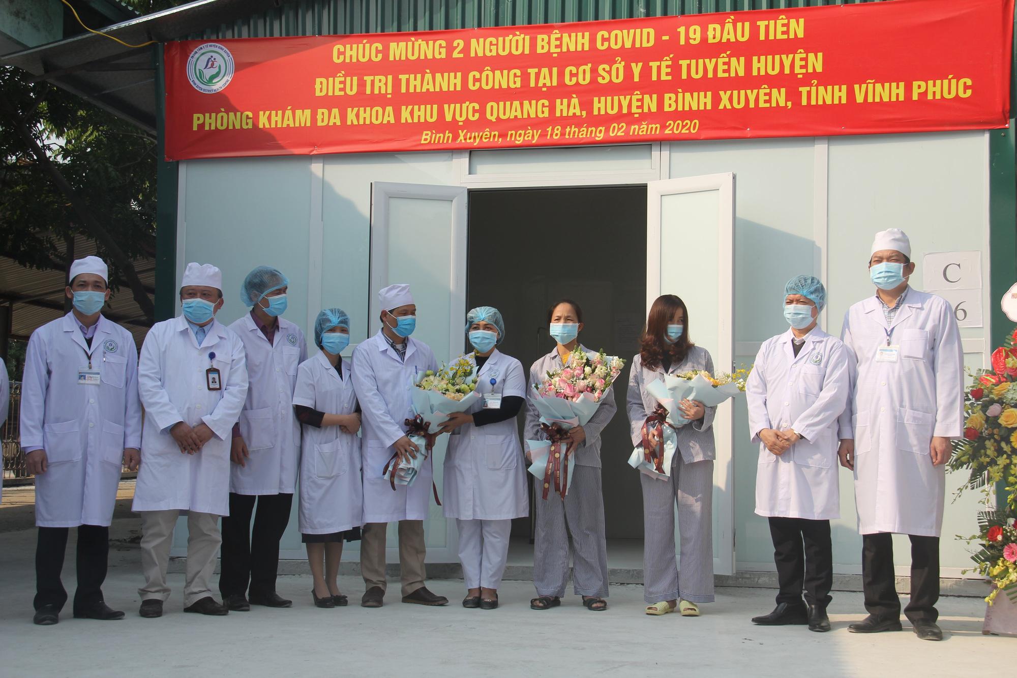 Người nhiễm SARS-Cov-2 cuối cùng ở Vĩnh Phúc đã 2 lần xét nghiệm âm tính, chờ xuất viện - Ảnh 1.