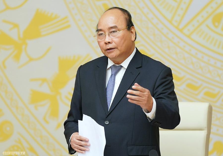 Thủ tướng Nguyễn Xuân Phúc: Chưa điều chỉnh các chỉ tiêu vĩ mô vì dịch covid-19, giữ nguyên mục tiêu tăng trưởng GDP 6,8% - Ảnh 1.