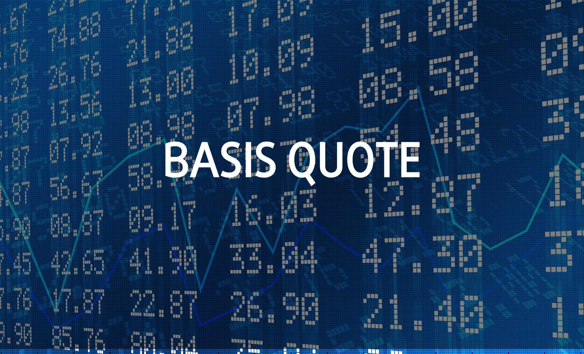Giá yết cơ bản (Basis Quote) là gì? Giá yết cơ bản và Rủi ro cơ bản - Ảnh 1.